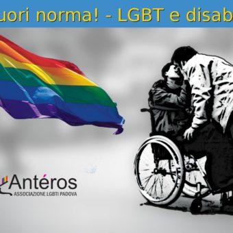 Fuori norma! – LGBT+ e disabilità-